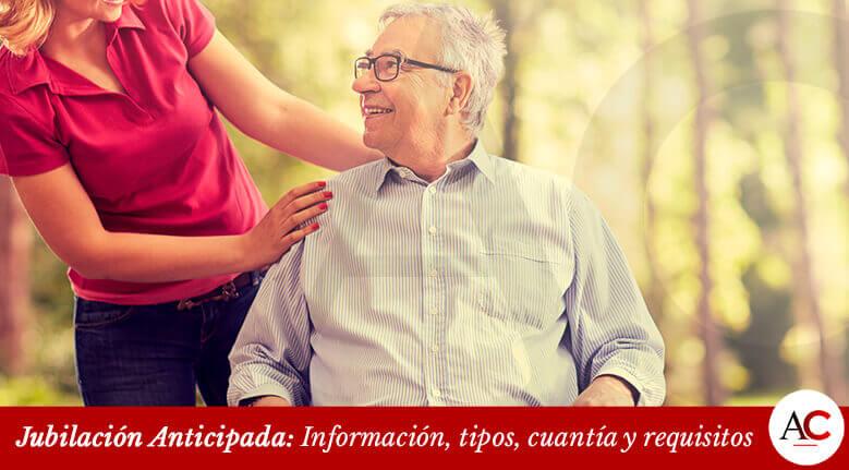 Jubilación Anticipada: Información, tipos, cuantía y requisitos