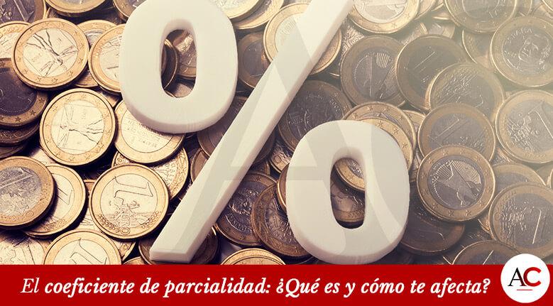 Coeficiente de Parcialidad: ¿Cuánto te penaliza en la pensión?