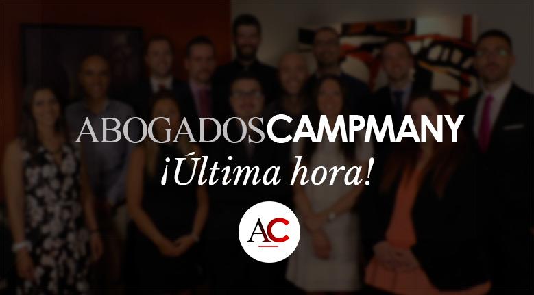 Campmany Abogados llega a toda España
