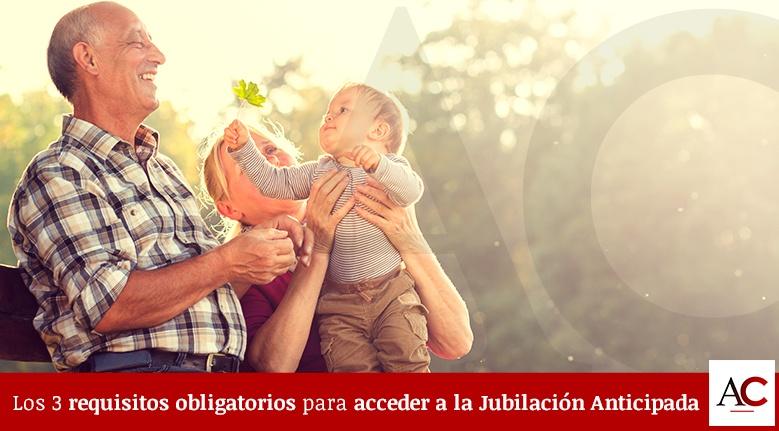 Los 3 Requisitos obligatorios para acceder a la Jubilación Anticipada